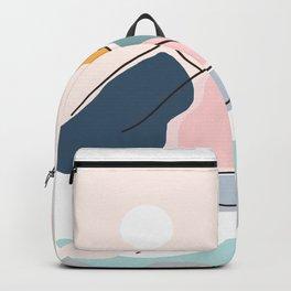 Minimalistic Landscape Backpack