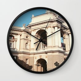 Life is a Theater Wall Clock
