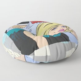 The Spanking Floor Pillow