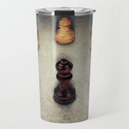 chess queen surrounded Travel Mug