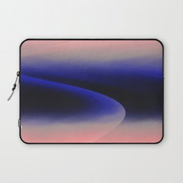 Pink abstract Laptop Sleeve