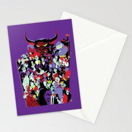 The Villains Stationery Cards