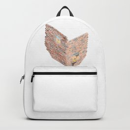 2 dimensions of separation - brick neighbour lovers Backpack