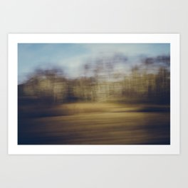Malmo Train #2 Art Print