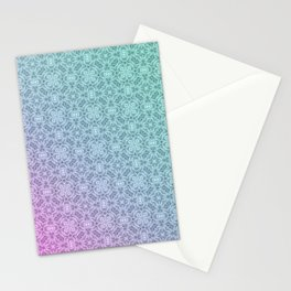 Gradient, ornament 3 Stationery Cards