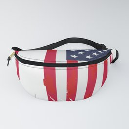 Impeach Trump The 45th President USA Flag Design Fanny Pack