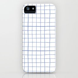 Graph paper iPhone Case