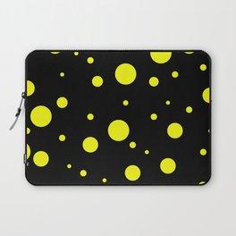 Yellow Bubbles Laptop Sleeve