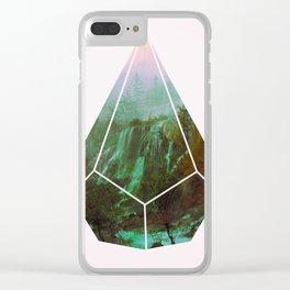 g a s o l i n e Clear iPhone Case