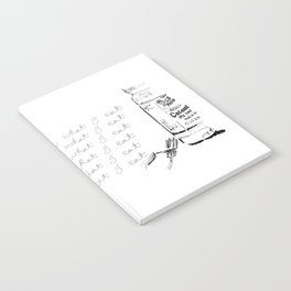 I Am What I Eat - Coconut Oil Notebook
