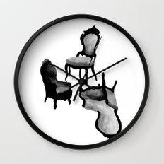 CHAIRS Wall Clock