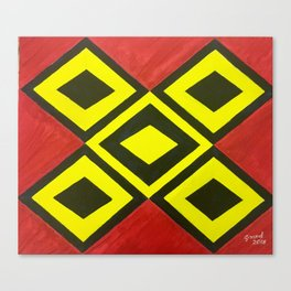 Tikal Canvas Print