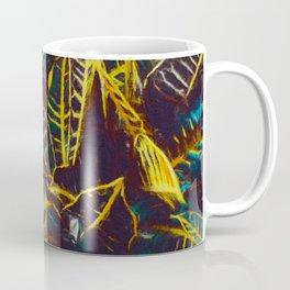 Tropical Leaves Fantasy - A Pattern Coffee Mug