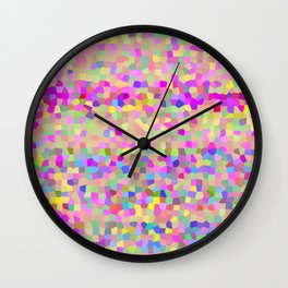 weekend tiles Wall Clock