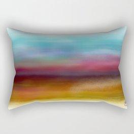 C for Colorful Rectangular Pillow