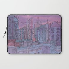 Budapest through pencil Laptop Sleeve