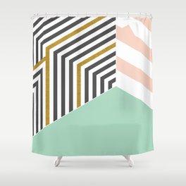 Mint&Gold Room #society6 #decor #buyart Shower Curtain