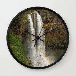 Wailua Falls Wall Clock