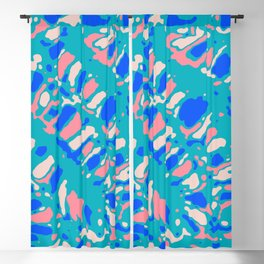 Coral Reef Sunlight Dream Blackout Curtain