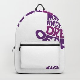 Willy Wonka Hat Backpack