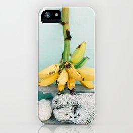 Tropical Bananas - Bahamas - Travel Photography iPhone Case
