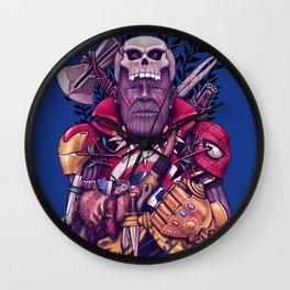 Wild Thanos Wall Clock