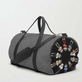 Sock Monkeys of the World Duffle Bag