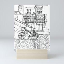The Bike Mini Art Print