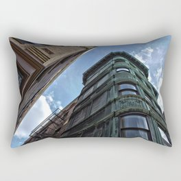 Street Corner//Boston MA Rectangular Pillow