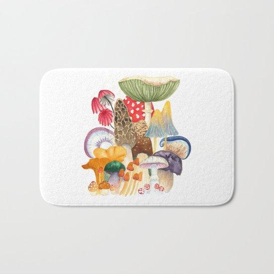 Woodland Mushroom Society Bath Mat
