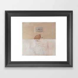 Because My Love For You (Would Break My Heart in Two) Framed Art Print