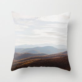 Autumn Shenandoah Valley Throw Pillow