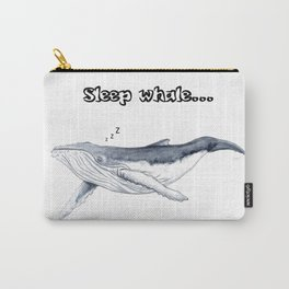 Sleep whale Carry-All Pouch