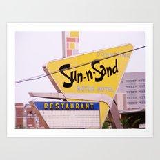 Sun-n-Sand Art Print