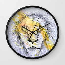 Lion II Wall Clock