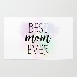 Best Mom Ever Rug