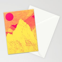Hast thou no voice, O Peak Stationery Cards