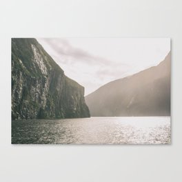 Punching in a Dream Canvas Print