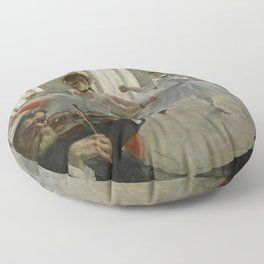 "Edgar Degas ""The rehearsal"" Floor Pillow"