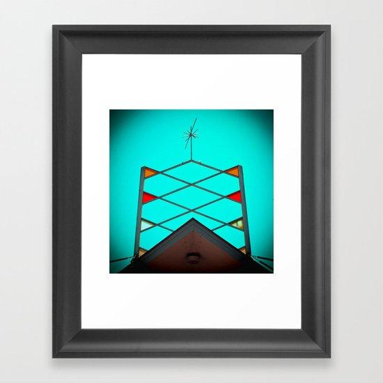 Atomic nostalgia Framed Art Print