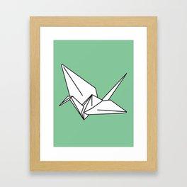 Paper Crane, 2013. Framed Art Print