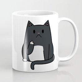 Cat Flipping Out Coffee Mug