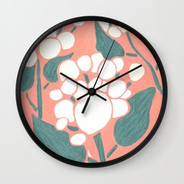 Georgia Flowers, Spring is coming Wall Clock