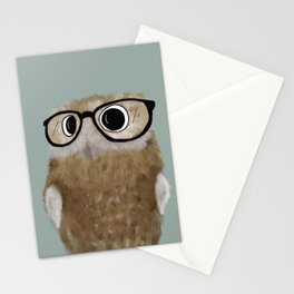 Owl Be Seeing You Stationery Cards