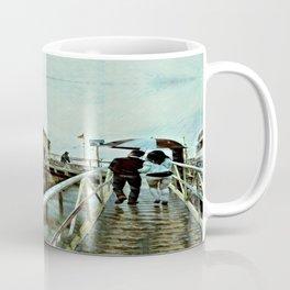 Boston Rain: Exit Gate 3 Coffee Mug