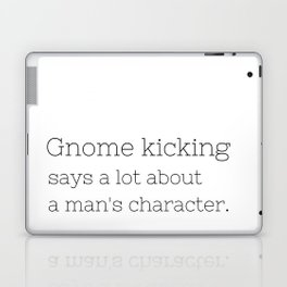 Gnome kicking - GG Collection Laptop & iPad Skin