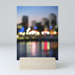 The City Never Sleeps Mini Art Print