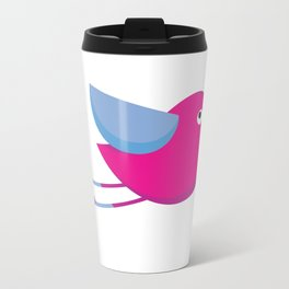 Colorfull bird Metal Travel Mug