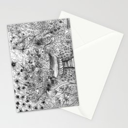 Busy Garden Stationery Cards