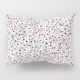 The Brain Number Three Pillow Sham